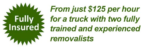 Fully Insured Melbourne Removalist